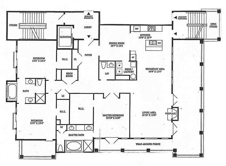 Luxury Condominium Floor Plans | Daniel Island | Charleston SC – The ...
